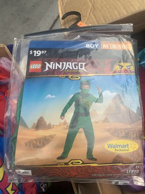 New ninja costume size 8-10 asking $10 price is firm for Sale in North Las Vegas, NV