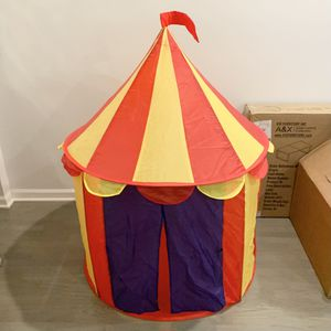 Circus Tent - Indoor Children Kid Play Tent House, Outdoor Kids Castle for Sale in Chicago, IL
