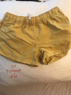 Patagonia yellow shorts xs for Sale in San Diego, CA