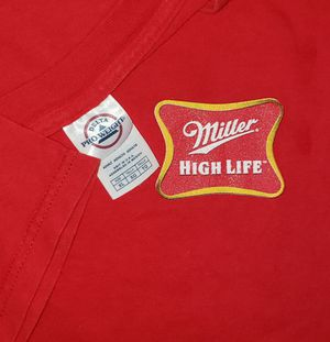 XL - MILLER HIGH LIFE Beer T Shirt Vintage BREW CREW Champagne of Beers Mens X-Large for Sale in Chandler, AZ