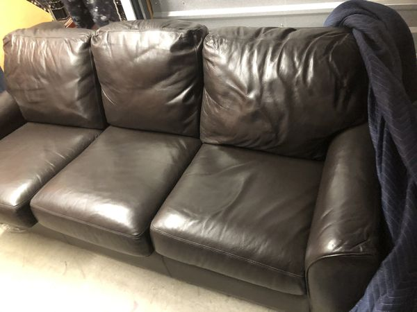 America Leather Couch