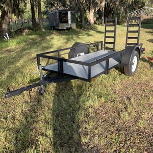 Brand New 5'10' Utility Trailer for Sale in Osteen, FL