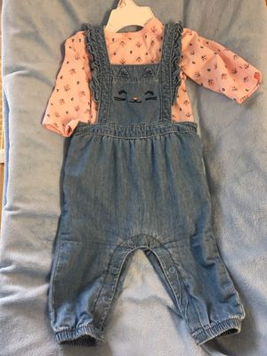 Baby girl jumpsuit (2pcs) 👧🏻 for Sale in Lake Forest, CA