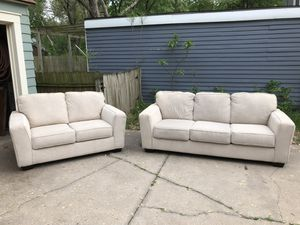 TODAY ONLY!!!! Ashley Furniture Sofa and Loveseat - Like NEW! for Sale in Wichita, KS