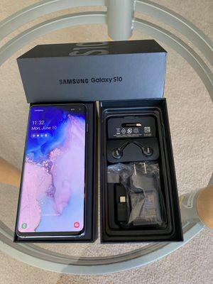 Samsung Galaxy s10 Unlock 128Gb Ceramic Black for Sale in Glenview, IL