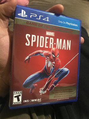 PS4 SpiderMan for Sale in Auburn, WA