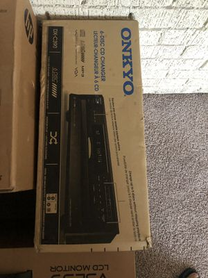 Onkyo 6 disc cd changer for Sale in Atlanta, GA