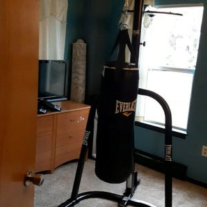 Everlast Boxing Punching Bag With Speed Ball Attached for Sale in Portland, OR