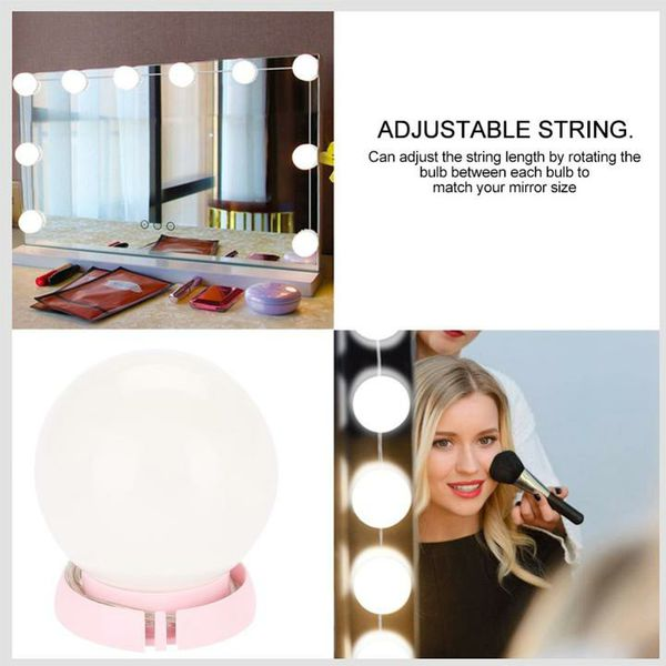 LED Vanity makeup mirror kit