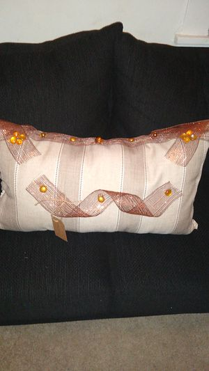 Homemade decorative throw pillow for Sale in Richmond, VA