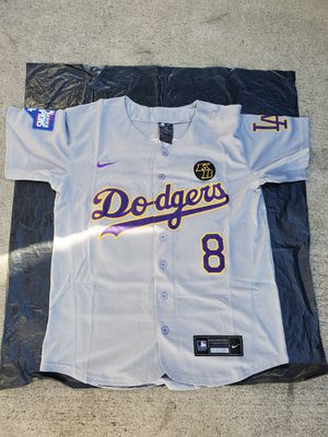 Dodgers kobe grey jerseys $60ea. Sm-3x for Sale in Pomona, CA