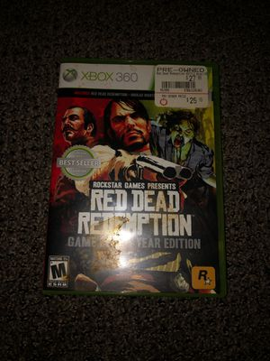 Red dead redemption game of the year for Sale in Wichita, KS