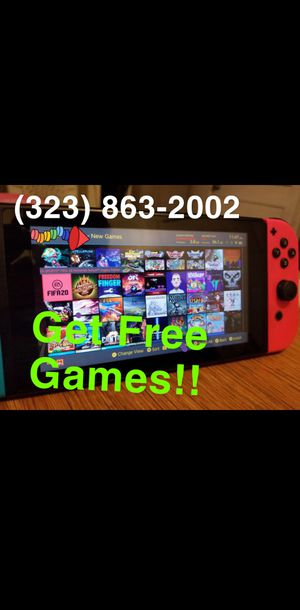 Nintendo Switch. Free Games for Sale in Lawndale, CA