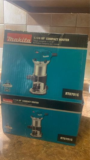 Makita compact router for Sale in Houston, TX