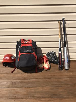 Baseball gear/set for Sale in Mount Airy, MD