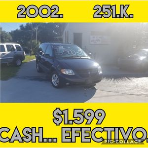 2002 dodge grand caravan for Sale in Winter Haven, FL