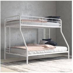 Twin Over Full Bunk Bed. Mattresses Included for Sale in Queens,  NY