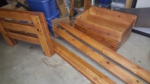Twin size bed frame for Sale in Puyallup, WA