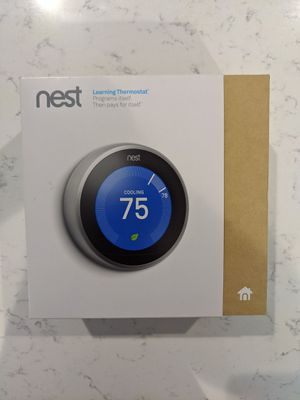 Nest Thermostat 3rd Generation for Sale in Gig Harbor, WA