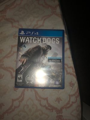 PS4 watchdogs works perfect| first come first serve for Sale in Fresno, CA