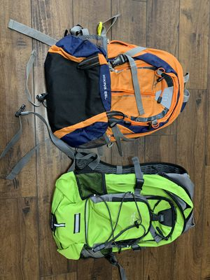 Two Hiking Backpacks -$20 each or $35 for both for Sale in Los Angeles, CA