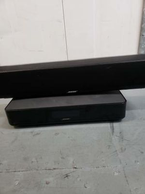Bose CineMate 120 Home Theater speaker System .Only have soundbar and Control center .cords  No Remote No Sub .Untested for Sale in Irvine, CA