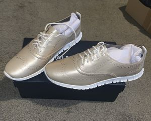 Cole Haan Women's Oxfords - Size 10 - Gold Metallic for Sale in Laurel, MD