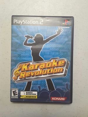 Karaoke revolution for ps2 for Sale in Modesto, CA