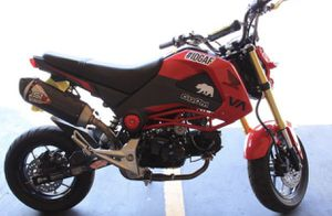 RED HONDA GROM 2015 for Sale in Pico Rivera, CA