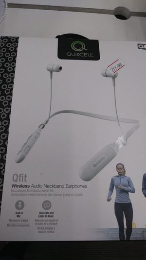 Quickcell Wireless Audio Neckband Earphones for Sale in undefined
