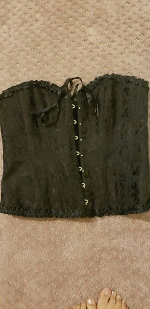 Sexy black plus size 18/20 corset for Sale in Creedmoor, TX