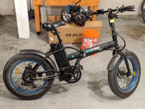 Ecotric fat tire folding electric bike ebike bicycle 500w 7-speed disc brake for Sale in Mill Creek, WA