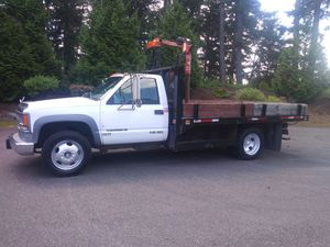 1999 Chevy C-3500 HD Flatbed $4,500 for Sale in Spanaway, WA