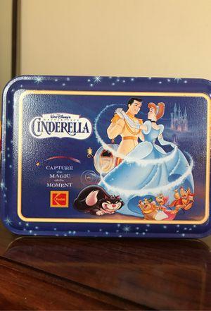 Commemorative Disney Cinderella Tin 1995 for Sale in Rochester, NY