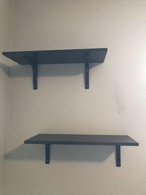 Black IKEA shelves for Sale in Tempe, AZ