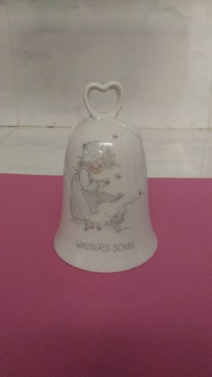 Vintage 1986 Precious Moments Winter's Song Bell for Sale in Gresham, OR