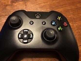 Xbox one X Black Controller for Sale in Huntington Beach,  CA