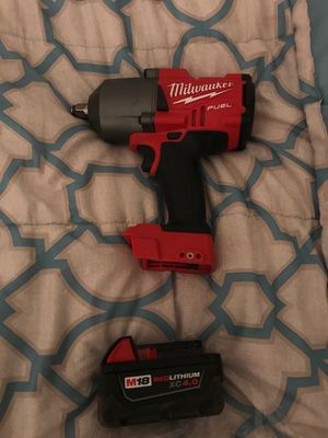 Brand new never been used Milwaukee half-inch impact for Sale in Columbus, OH