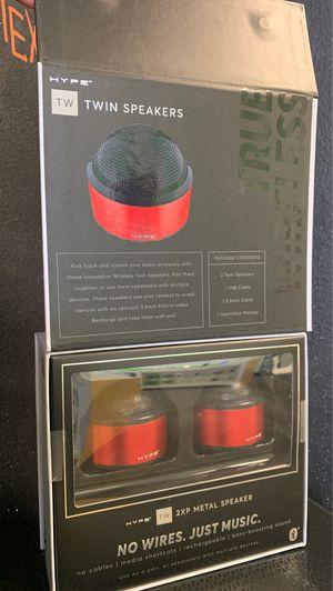 HYPE True Wireless Twin BT Speakers for Sale in Weston, WI
