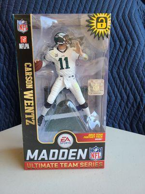 Carson Wentz Philadelphia Eagles Madden NFL 19 Ultimate Team Series 1 McFarlane for Sale in Fontana, CA