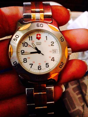 Victorinox Swiss Army Men's two toned diver watch for Sale in Everett, WA