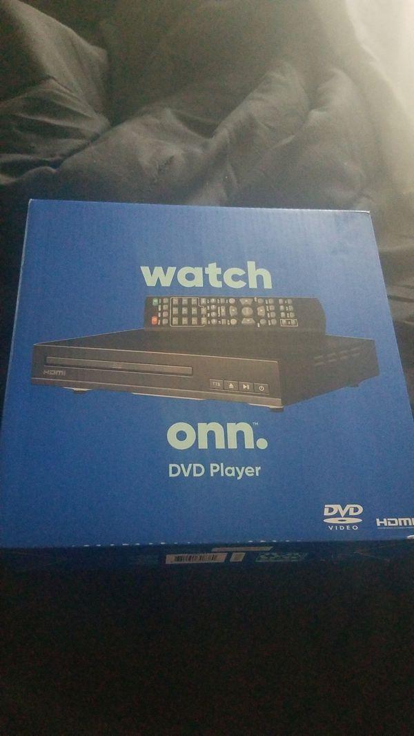 brand new onn dvd player .