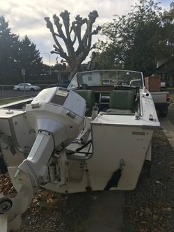 18 foot Star craft 100 horse motor for Sale in Selah,  WA