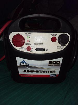 Peak Performance 600 peak amps Jump Starter for Sale in Las Vegas, NV