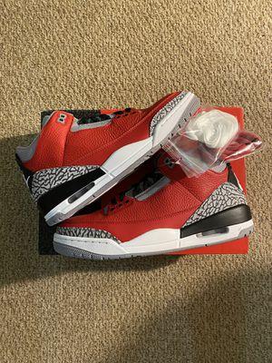 Jordan 3 Fire Red for Sale in Laurel, DE