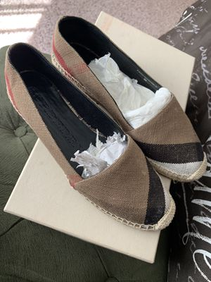 burberry espadrilles. for Sale in Lorton, VA