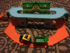 Free Elmo train station play set for Sale in Fresno, CA