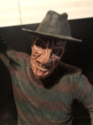 Freddy Krueger action figures horror figures for Sale in Perris, CA
