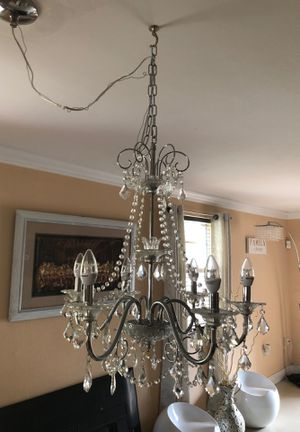 Chandelier with lightbulbs for Sale in Miami, FL