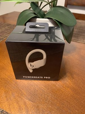 powerbeats pro brand new authentic sealed box unopened still wrapped on it $120 Very FIRM for Sale in Carmichael, CA